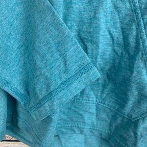 Puma Tops - Puma Blue Scoop Neck Hoodie Size Medium